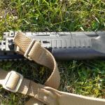 NUTNFANCY/PFI Level 1 plus: SGMT Tri Rail, Krebs Muzzle Brake, Rubber Butt Pad, and Blue Force Padded 2-Point Sling w/rail adapter.  AS SEEN IN NUTNFANCY Video: http://www.youtube.com/watch?v=LDOc14WNsQQ&feature=relmfu